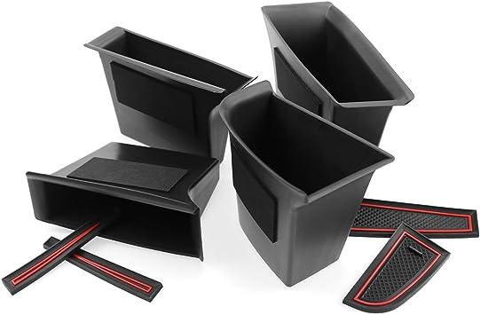 4 Stück Cdefg Für Mazda3 Cx30 Cx 30 2019 Auto Aufbewahrungsbox Autotür Innenrahmen Box Abdeckungen Innenraum Zubehör Storage Box Front Rear Auto