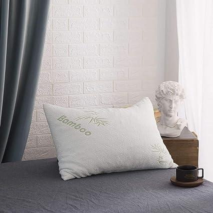 Amazon com: BESC Shredded Memory Foam Pillow Standard/Queen
