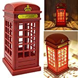 lovely simple kitchen plan Vintage London Telephone Booth Designed USB Charging LED Night Lamp Touch Sensor Table Desk Light for Bedroom Students Dormitory Illumination Home Bar Decoration Novelty Birthday Adjustable Brightness