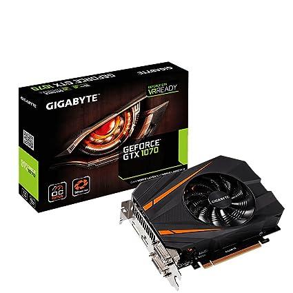 Gigabyte GV-N1070IXOC-8GD - Tarjeta gráfica, Color Negro