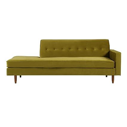 Exceptionnel Kardiel Eleanor Mid Century Modern Classic Sofa Right, Olive Velvet