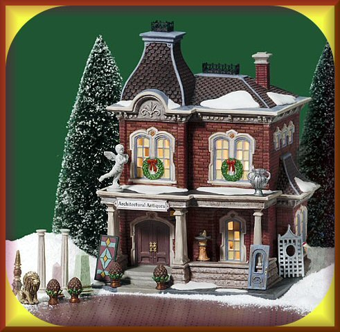 Department 56 Christmas In The City ''Architectural Antiques'' (Set of 17)