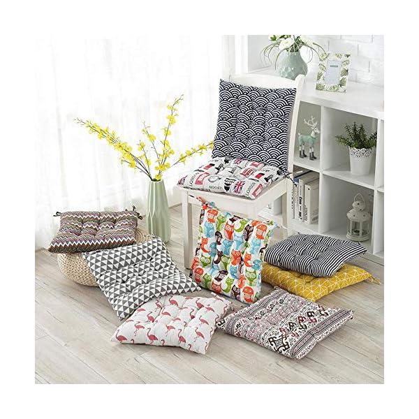 Dylandy - 1 x cuscino per sedia, per esterni, giardino, patio, casa, colore: rosa, 50 x 50 cm 6 spesavip