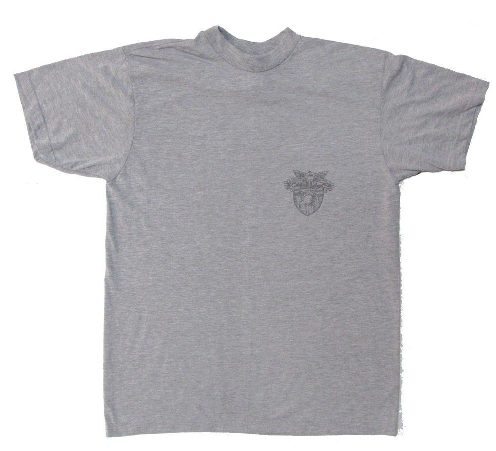 Military Surplus USMA West Point Short Sleeve PT Shirt IPFU Reflective - Large
