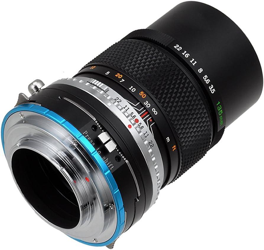 Fotodiox Pro Lens Mount Shift Adapter Olympus Om 35mm Camera Photo