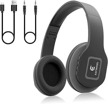 E T Auriculares Bluetooth,Auriculares Inalámbricos con Micrófono ...