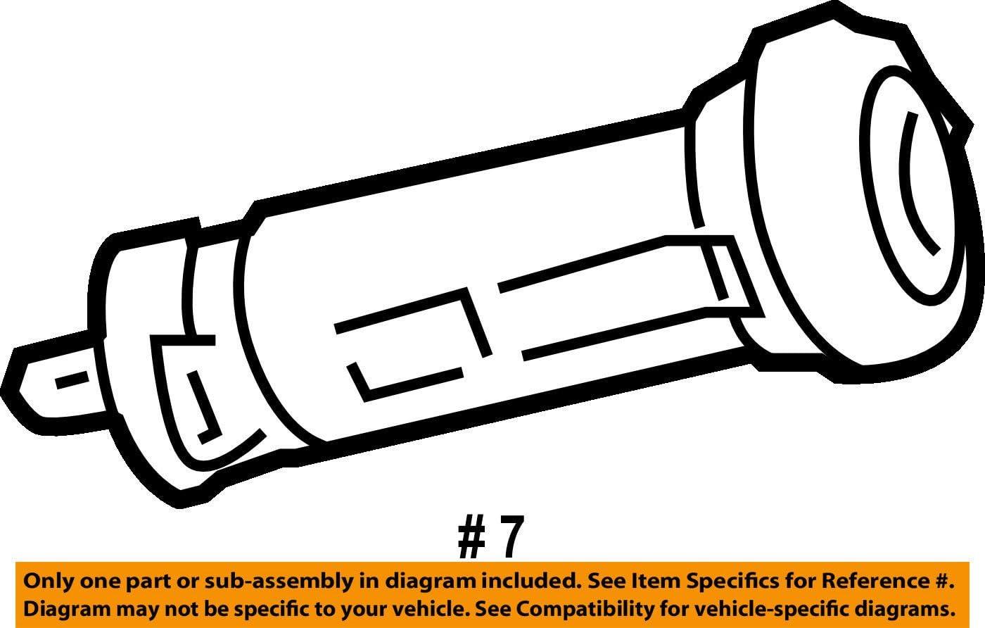 General Motors 19120481 Ignition Lock Cylinder