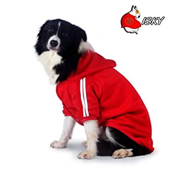 Amazoncom Visky Big Dog Hoodies Costumes Dog Sweatshirts Winter