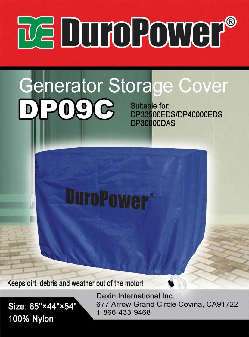 Doublelux New Nylon Universal Weatherproof Generator cover - Nylon Cover for small, medium and large - outdoor (85'' L x 44'' W x 54'' H) by Doublelux