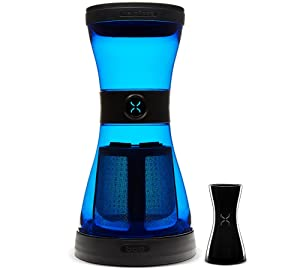 BOD Cold Brew Coffee System by BodyBrew - 24oz Shatter-proof & Spillproof Design - BPA Free - Stainless Steel Filter - Dishwasher Safe - Sky