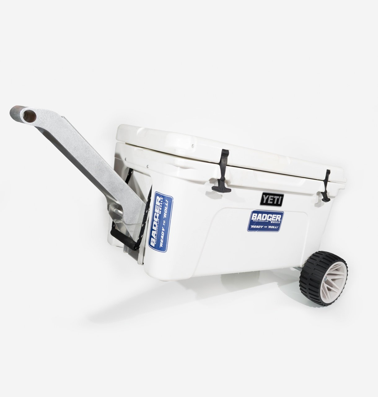 Large Wheel Badger 65 Kit - Single Axle + Handle/Stand (Fits Tundra 50, 65 and 110) by Badger Wheels