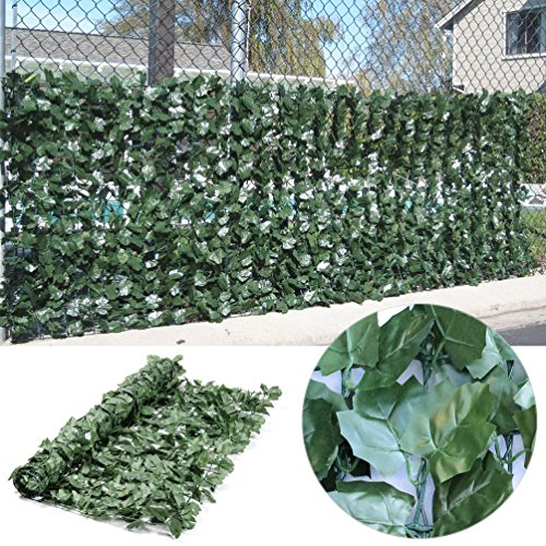 synturfmats artificial ivy hedge fencing faux leaf privacy fence screen decoration panels