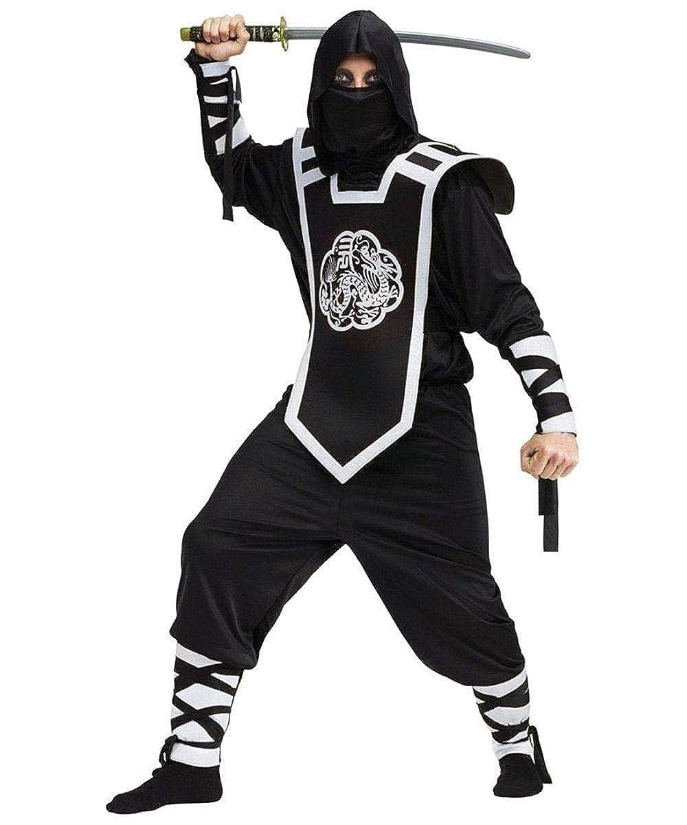 Fun World - Mens Dragon Ninja Costume