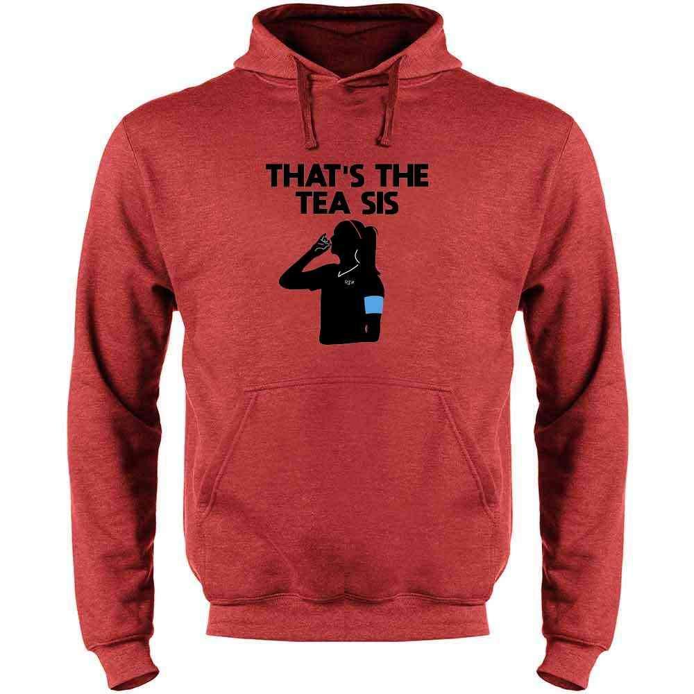 Thats The Tea Sis USA Soccer Champions Celebration Funny Mens Fleece Hoodie Sweatshirt
