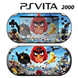 Decorative Video Game Skin Decal Cover Sticker for Sony PlayStation PS Vita Slim (PCH-2000) - Angry Birds