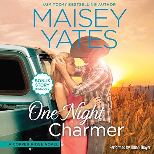 One Night Charmer: w/Bonus Novella: Hometown Heartbreaker Bonus (Copper Ridge Novels) by Harlequin Audio