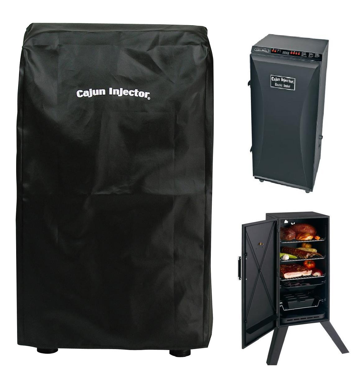 Amazon Cajun Injector 30 Inch Tall Deluxe Smoker Cover