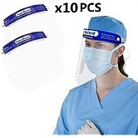 SGODDE 10 Pcs Protector Facial de Seguridad, Viseras