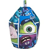 Disney Pixar Monsters University Inc Cotton Seat Chair Bean Bag with Filling