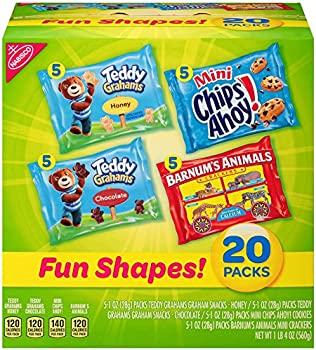 20 Count Nabisco Fun Shapes Cookies & Crackers Variety Pack