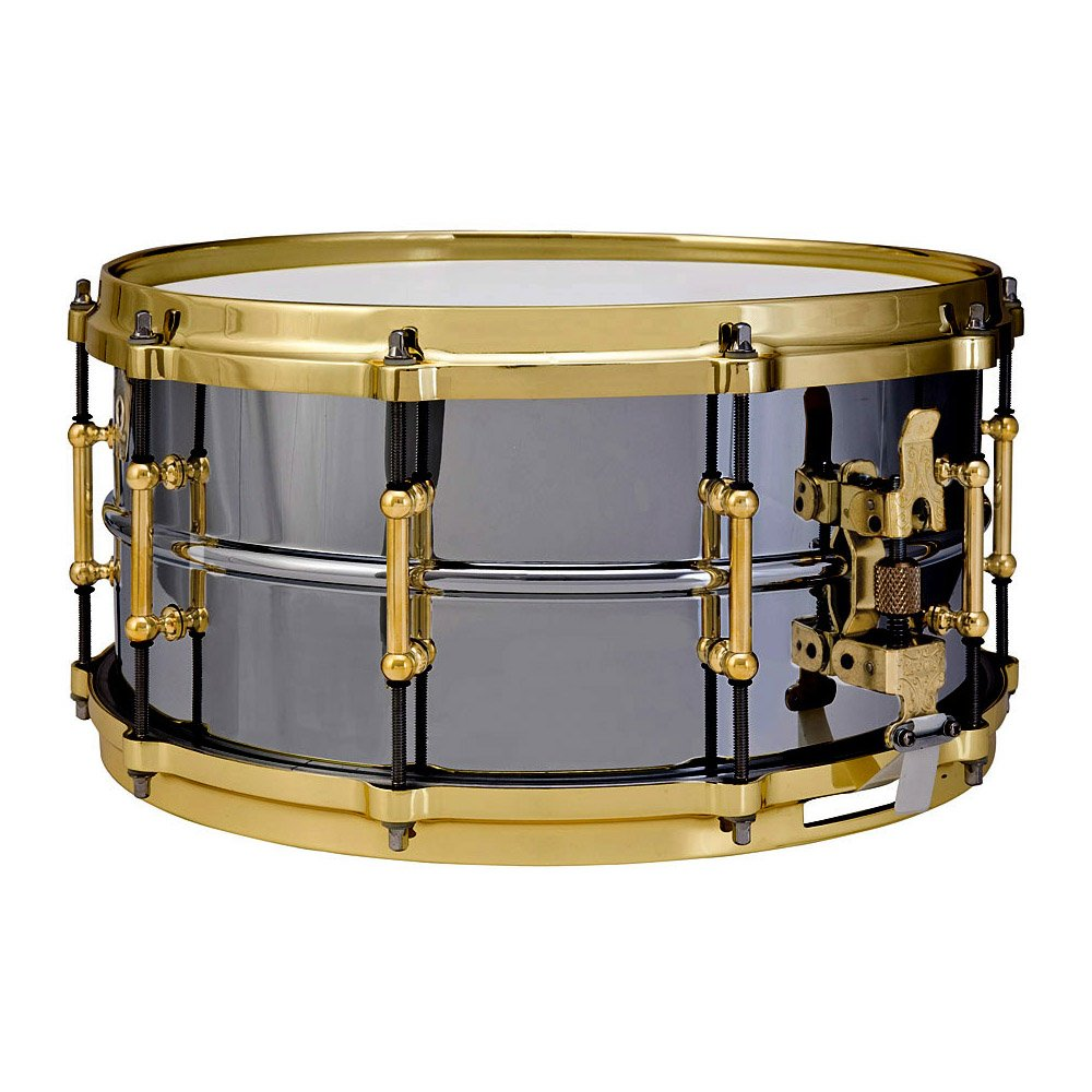 Ludwig LB417BT Black Beauty Brass on Brass 6.5 x 14 Inches Snare Drum