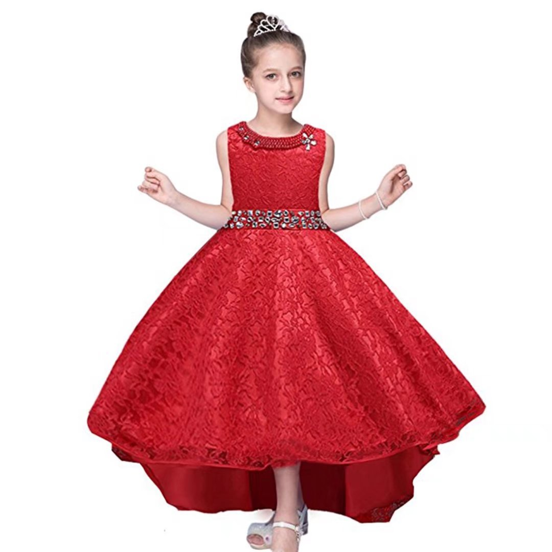 66d40e529 ... Flower Girl Dresses. Wholesale Price:13.99 - $26.98. MATERIAL: Cotton  Polyester Lace Blending. Size Table means age ranges for girl, but they are  for ...