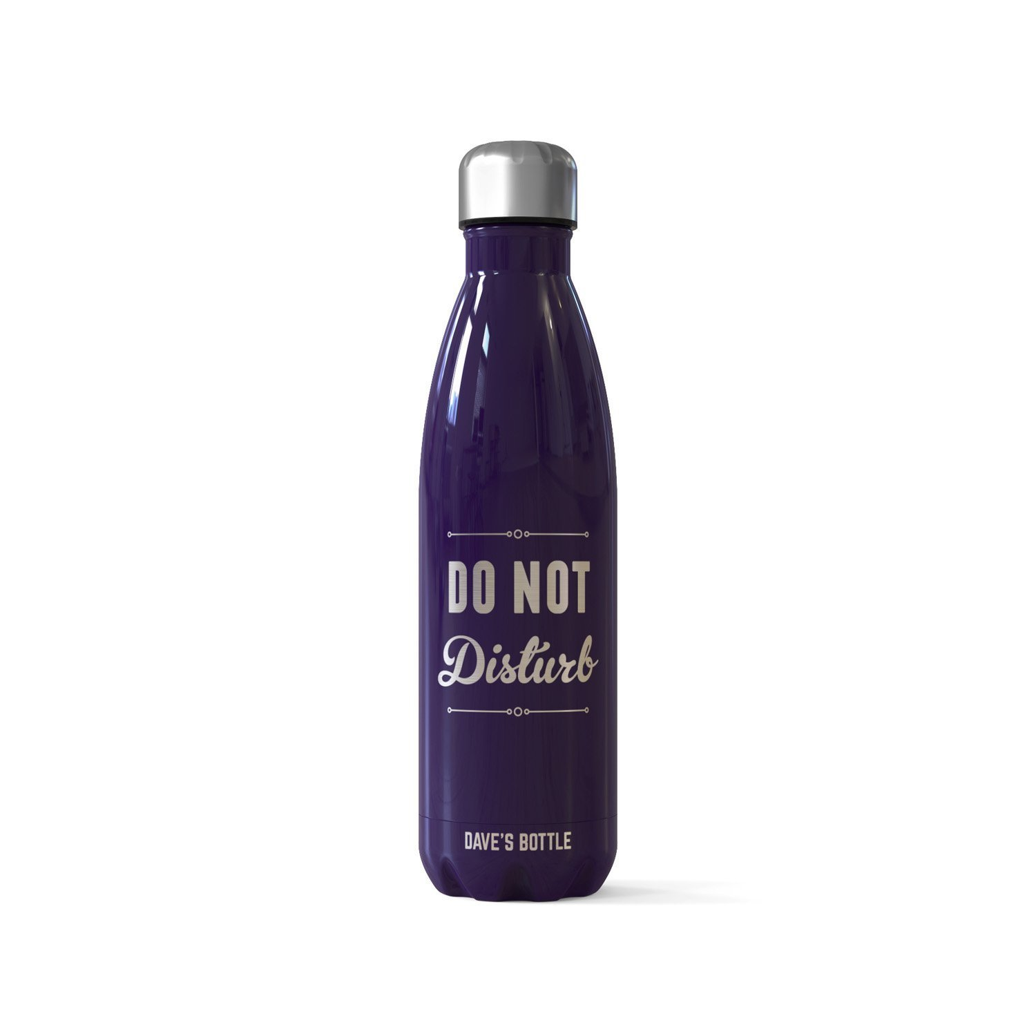 Personalized CoHo Bottle Flask Do Not Disturb