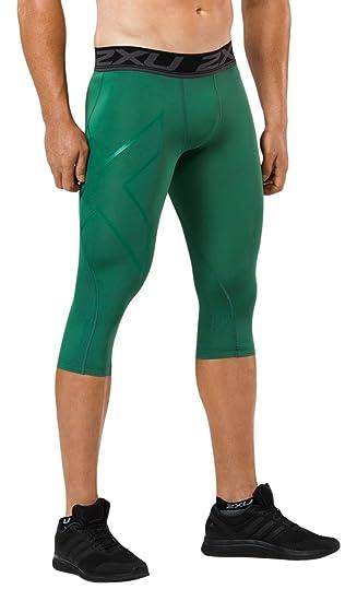 dac64c56d6 Amazon.com : 2XU Men's LKRM 3/4 Compression Tights : Clothing