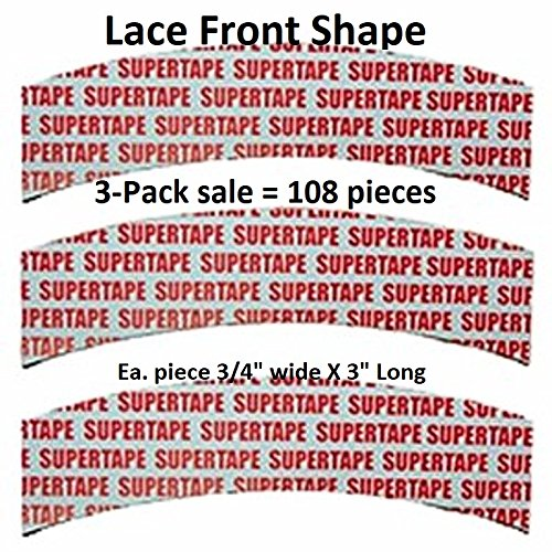 SuperTape Lace Front Tape 3-packs = 108 pcs (Tape System Hair)