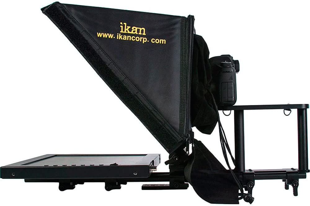 15 inch Rod Based Location Studio Teleprompter Ikan PT3500