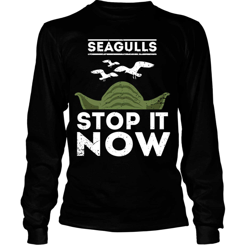 Yoda Star Wars T Shirt Seagulls Stop It Now Song T Shirt Tees