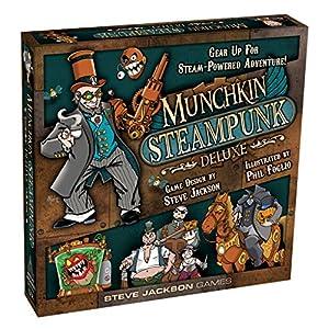 Steve Jackson Games Munchkin Steampunk Deluxe Card Game
