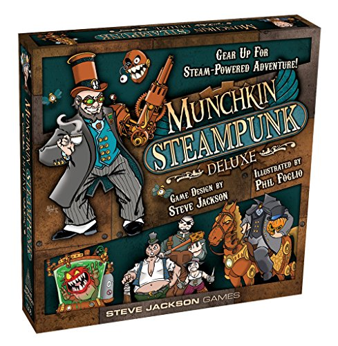 Steve Jackson Games Munchkin Steampunk Deluxe Card Game 3