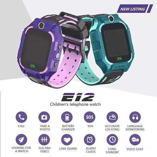 boastvi - Smartwatch para niños, 2 G, Tarjeta SIM, GPS, IP67 Deep ...