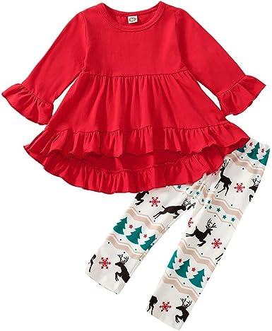 FELZ Conjunto Bebe Niña Navidad Disfraz Navidad Bebe Niña Vestido ...