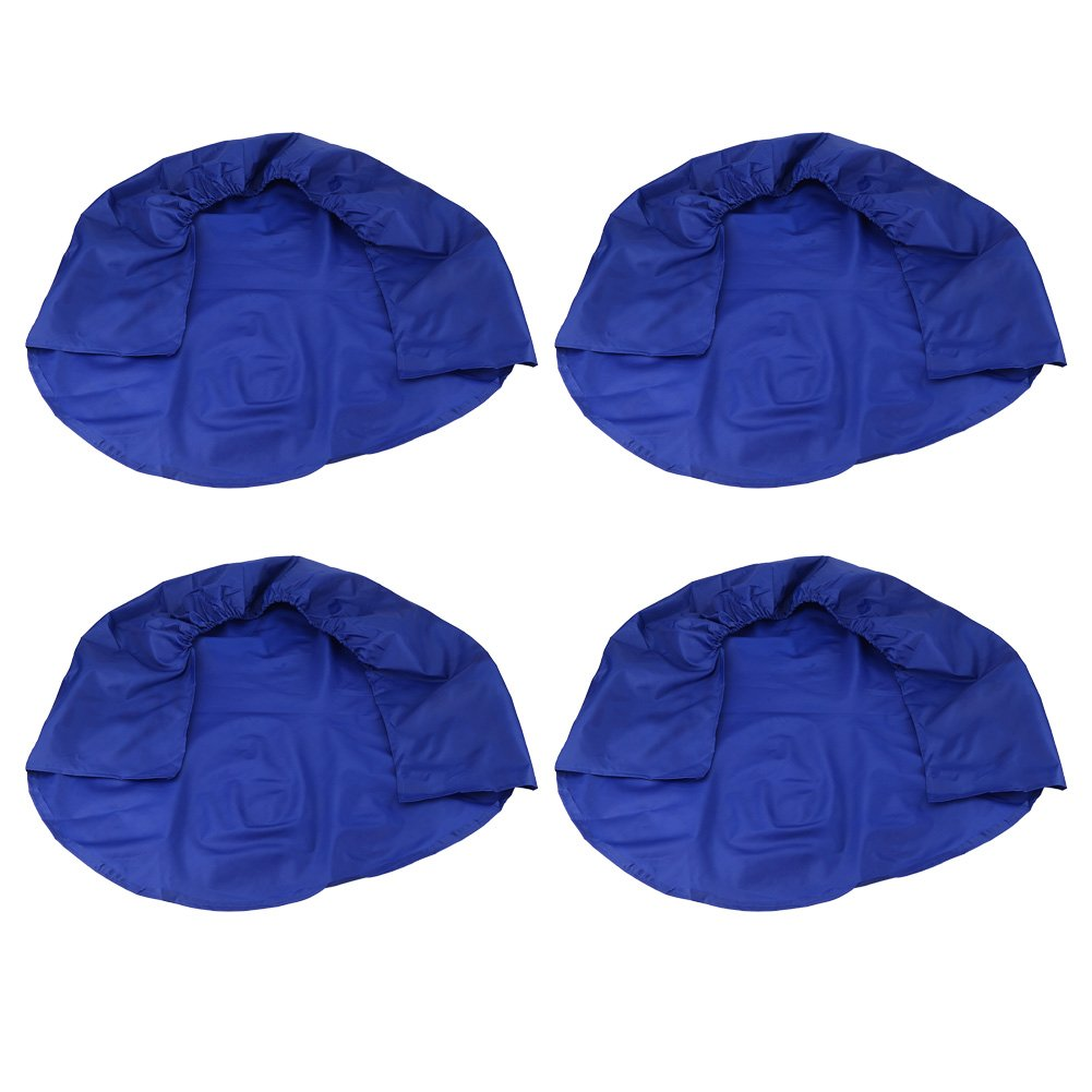Wheel Tire Covers, 32 Inch Waterproof Tire Protectors for RV Auto Truck Car Camper Trailer (Blue) Zerone