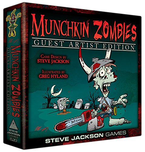 Munchkin Zombies Guest Artist Edition Greg Hyland Board Game