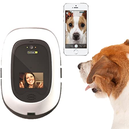 Pet Chatz Hd: Two Way Premium Audio/Hd Video Pet Treat Camera W/ Dog Tv, Smart Video Recording, Calming Aromatherapy, And Motion/Sound Detection (As Seen On The Today Show) by Pet Chatz