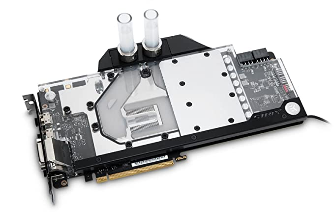 Amazon.com: EKWB ek-fc1080 GTX Ti Strix RGB GPU waterblock ...