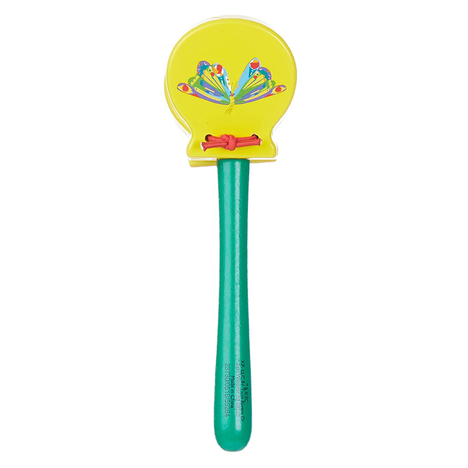 World of Eric Carle The Very Hungry Caterpillar Wood Clacker Kids Preferred 55264