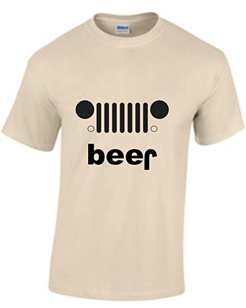 Adult Beer Funny Drinking T Shirt Willy Jeep Invert Play On Words