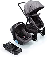 Travel System Poppy Trio Cosco, Cinza Mescla