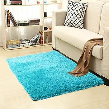 Amazon Com Queenmore Shag Modern Indoor Outdoor Area Rugs