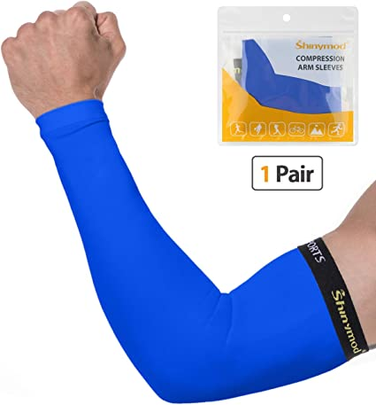 Sun Protection Arm Support Tattoo Covers Sports Compression Sleeves for Golfing,Running,Cycling,Working Out /& Arm Warmer SHINYMOD Arm Sleeves for Men Women