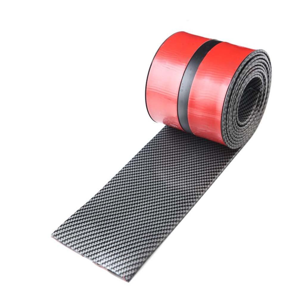 MagiDeal 2.5m Car Vehicle Door Edge Bumper Strip Lip Guard Decor Protector Moulding Trim with Self Adhesive Tape