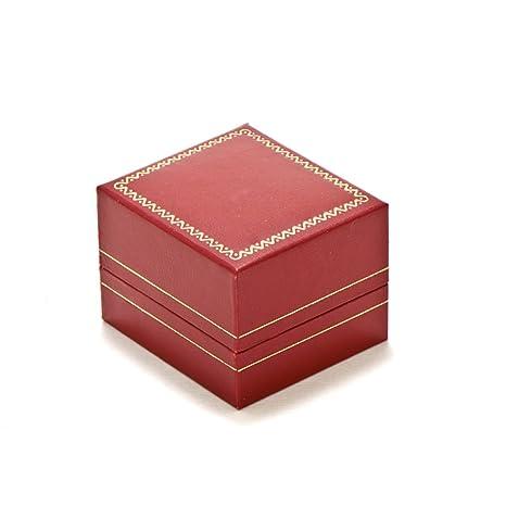Amazon.com: Anillo rojo joyas caja de regalo: Carnaval ...