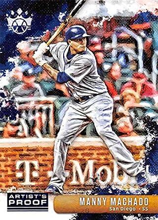 72224f41e 2019 Panini Diamond Kings Artist Proof Blue Baseball #149 Manny Machado SP  Short Print San