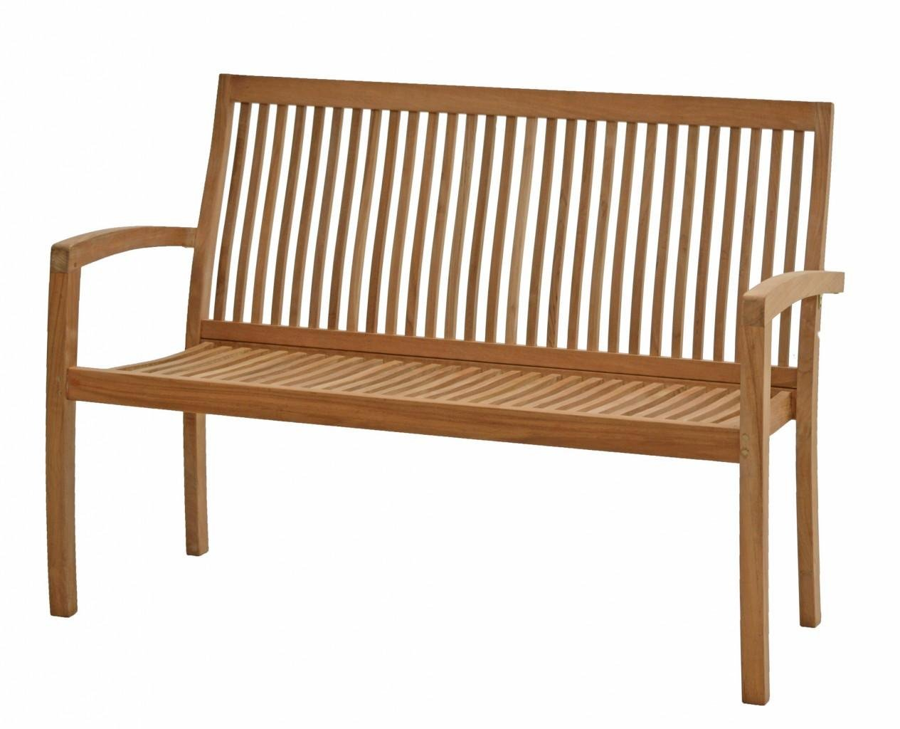 Ploß Outdoor furniture Stapelbank, Memphis, natur, 60x130x90 cm, 0,3073 ml, 1020890