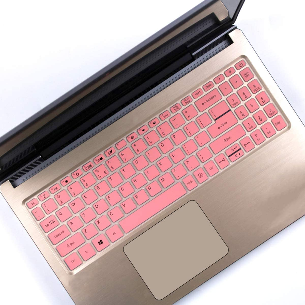 Keyboard Cover Fit 15.6 inch Acer Aspire 5 Slim Laptop   A515-43 A515-54 A515-54G   Acer Swift 3 SF315, Acer Aspire 5 Skin -Pink