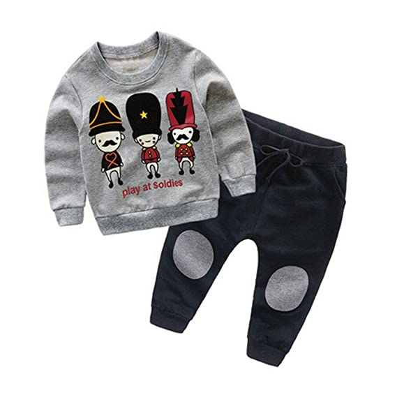7d0d071f1 POLP Niño 2019 Conjunto Invierno Primavera Camiseta Manga Larga Hombres  Recién Nacido Bebé Niño Niña Tops Camisas y Pantalones Conjuntos de Ropa  Trajes ...